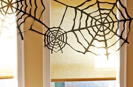 Spider Web Garbage Bags