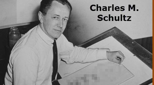Charles M. Schultz, Peanuts author