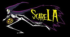 ScareLA, August 9-10th, 2014 Drawing fans and haunt entertainment professionals, the event will feature top attraction designers and operators, manufacturers, artists, filmmakers and more.