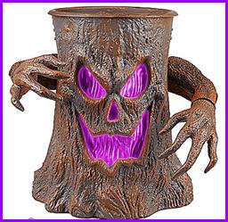 Spooky Halloween Animated Tree